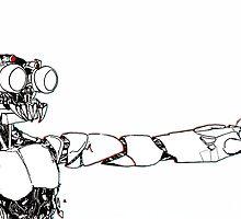 Dying robot by neomecha