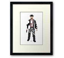I Am The Danger Heisenberg From Breaking Bad Framed Print