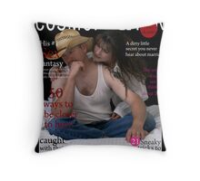 Cosmo Eat your Heart out... Throw Pillow