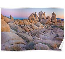Desert Sunset - Joshua Tree NP Poster
