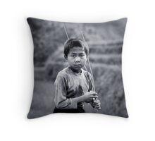 Herder Throw Pillow