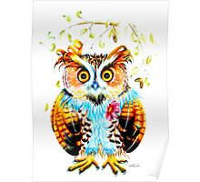 The most beautiful Owl Poster