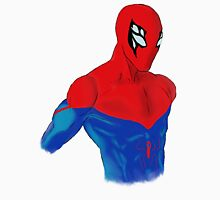 Spider-Man Alternative Suit Design Bust (Pink) Tank Top