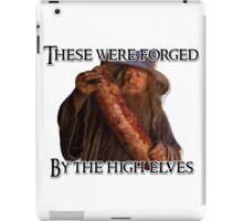 Gandalf sausage iPad Case/Skin