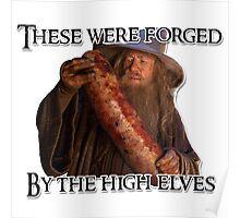 Gandalf sausage Poster