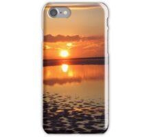 SUNSET ON BEACH iPhone Case/Skin