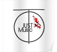Just Music - Ripple Effect Style Poster