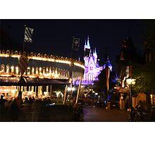 Fantasy land Disneyland Photographic Print