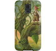 Jack and the beanstalk Samsung Galaxy Case/Skin