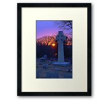 Montrose at Sunset Framed Print