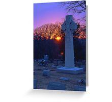 Montrose at Sunset Greeting Card