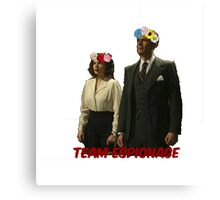 Agent Carter and Co Canvas Print