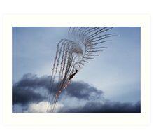flare angel Art Print
