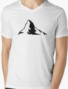 Matterhorn Mens V-Neck T-Shirt