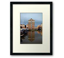 Albert Warehouse Framed Print
