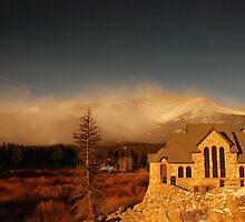 Mount Meeker wind storm by Paul Crossland