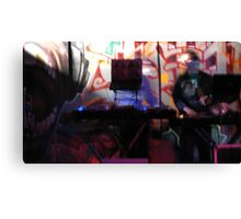 The Ghost of DJ's past Canvas Print