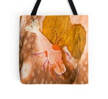 Emperor Shrimp on Sea Cucumber Tote Bag