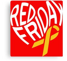 Red Friday Canvas Print