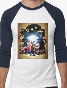 Gravity Falls - Season 2 Men's Baseball ¾ T-Shirt