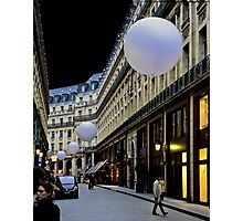 Paris with Spheres Photographic Print