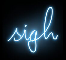 neon sigh by menhys