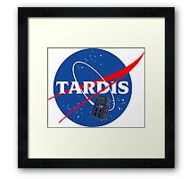Nasa Tardis Framed Print