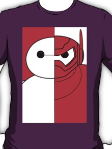 Baymax - Big Hero 6 Half Armored T-Shirt