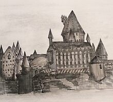 Hogwarts | Sketchbook by AlwaysRoseArt