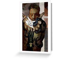 Dorian Romance Tarot Greeting Card