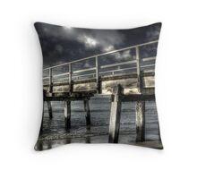 Storm light. Throw Pillow