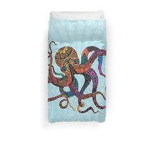Electric Octopus Duvet Cover