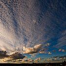 Daylesford sunset by Victor Pugatschew