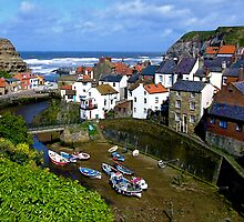 """""""Staithes, North Yorkshire"""" by Bradley Shawn  Rabon"""