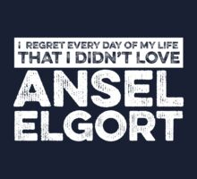 Regret Every Day - Ansel Elgort (Variant) by huckblade