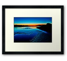 """Daybreak Reflections"" Framed Print"