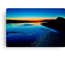 """Daybreak Reflections"" Canvas Print"