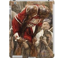 Michael Jordan The Flu Game iPad Case/Skin