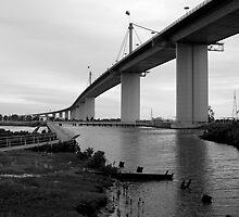 Westgate Bridge by Alexander Gitlits