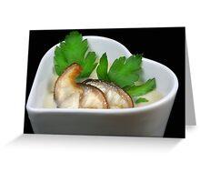 Eel Soup Greeting Card