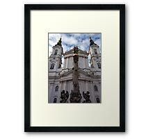 piaristenkirche. vienna, austria Framed Print