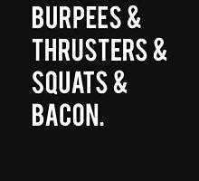Burpees & Bacon Unisex T-Shirt