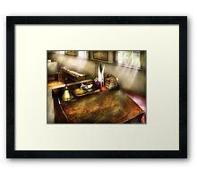The school room Framed Print