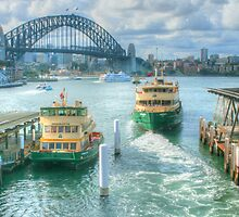 Sydney Harbour from Circular Quay ... HDR by Michael Matthews