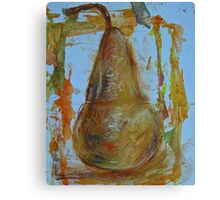 Delightful Pear Canvas Print