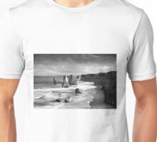 Tweleve Apostles with Ansel Adams effect Unisex T-Shirt