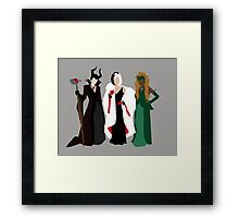Queens of Darkness Framed Print
