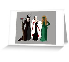 Queens of Darkness Greeting Card