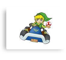 Mario Kart: Toon Link Canvas Print