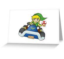 Mario Kart: Toon Link Greeting Card